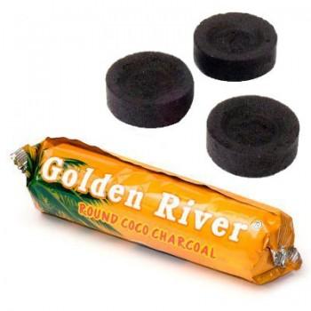 Carbuni narghilea - Golden River Cocos (40 mm)