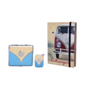 Gift SET - VW Lighter and Cigarette Case