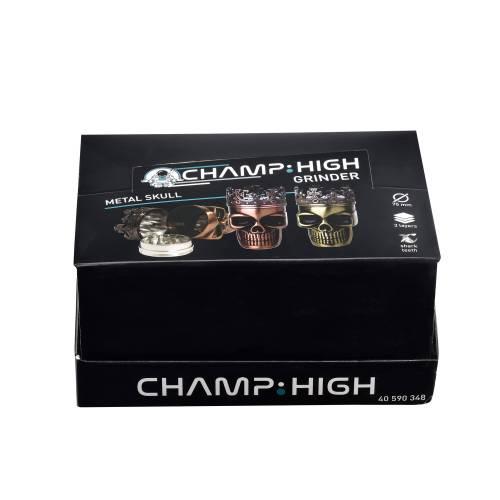 Grinder Champ - Metal Skull 75 mm / 3 parti