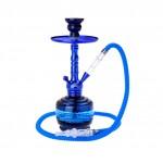 Narghilea Champ - AL Malik Shiny BLUE (37 cm, un furtun)