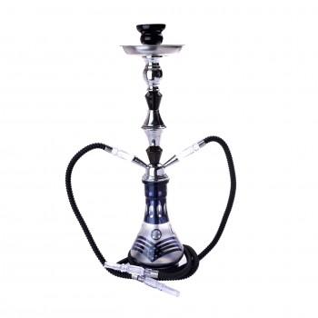 Narghilea Champ - Arabic Design BLACK (55 cm, doua furtunuri)
