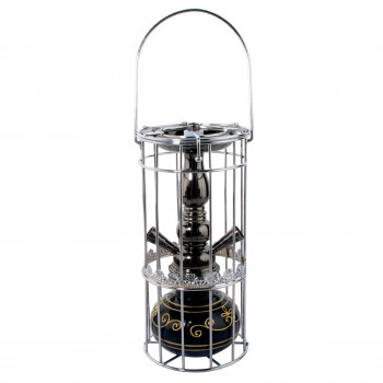 Narghilea Champ - Mini Cage (29 cm, doua furtunuri)