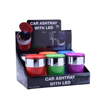 Scrumiera auto - Champ Colors LED