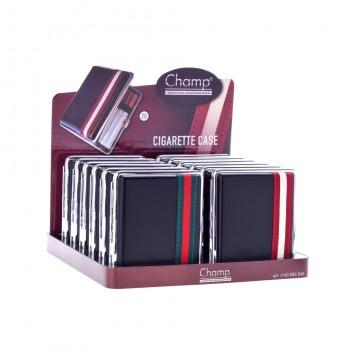 Tabachera Champ - clasica Black with Stripes HQ (20)