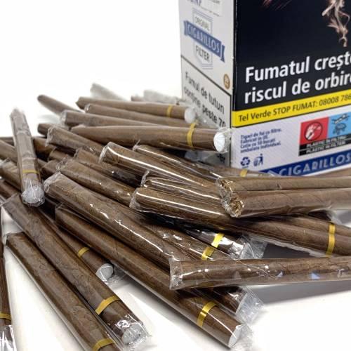Tigari de foi - Senator Filter Cigarillos Original (50)