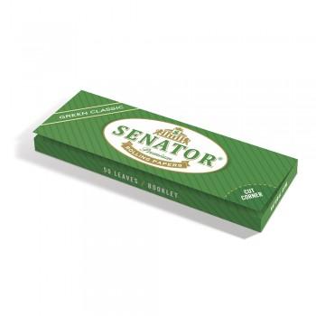 Foite rulat Senator - Green Classic (50)