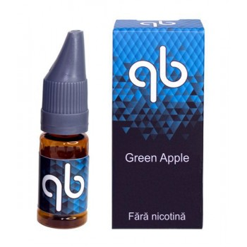 Queens Blend BLUE - Green Apple (10 ml) High VG / 0 mg