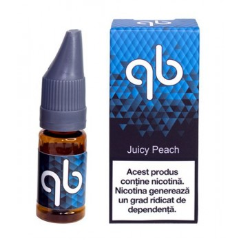 Queens Blend BLUE - Juicy Peach (10 ml) High VG