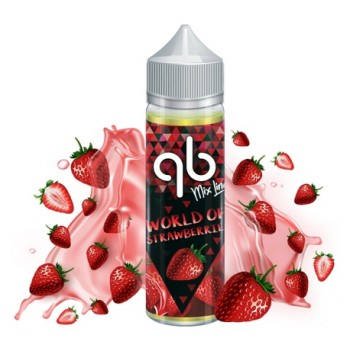 qb MixLine - World of Strawberries (50 ml) High VG / 0 mg