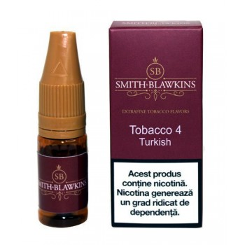 Smith Blawkins RED - Tobacco 4 (10 ml) High PG
