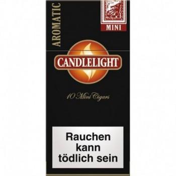 Tigari de foi cu filtru - Candlelight Mini BLACK (10)