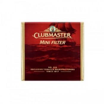 Tigari de foi cu filtru Clubmaster - Mini Filter Red (10)