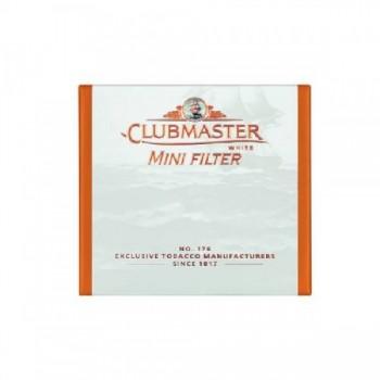 Tigari de foi cu filtru Clubmaster - Mini Filter White (10)
