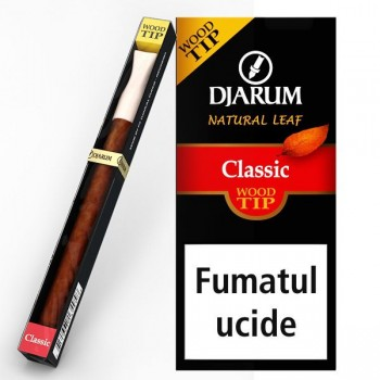 Tigari de foi Djarum - Filter TIP Wood CLASSIC (1)