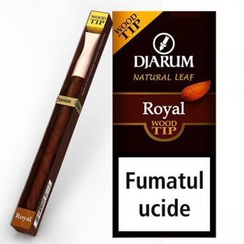 Tigari de foi Djarum - Filter TIP Wood ROYAL (1)