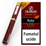 Tigari de foi Djarum - Filter TIP Wood RUBY (1)