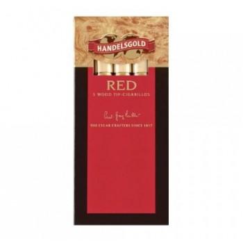 Tigari de foi Handelsgold - Wood Tip RED (5)