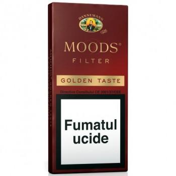 Tigari de foi - Dannemann Moods Gold Filter (5)
