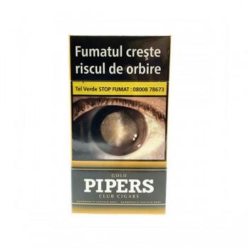 Tigari de foi fara filtru - Pipers Club GOLD (10)