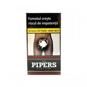 Tigari de foi fara filtru - Pipers Club RED (10)