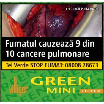 Tigari de foi cu filtru Villiger - Green Mini (10)