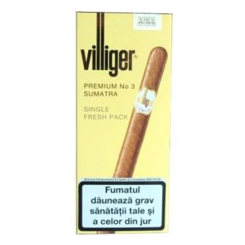 Tigari de foi Villiger - Premium No 3 Sumatra (5)