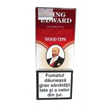 Tigari de foi King Edward - Wood Tips RUBY (5)