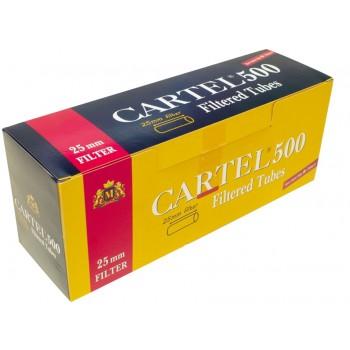 Tuburi tigari CARTEL 25 mm Filter (500)