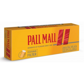 Tuburi tigari Pall Mall FULL FLAVOR Xtra 25 mm Filter (200)