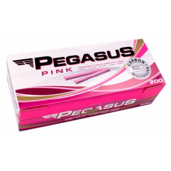 Tuburi tigari Pegasus PINK Multifilter Carbon (200)
