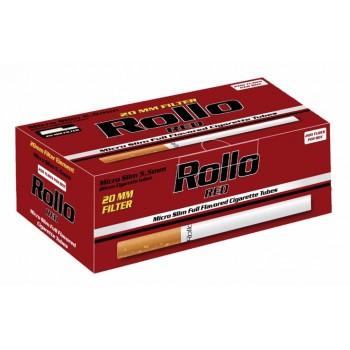 Tuburi tigari Rollo Red - Micro SLIM (200)