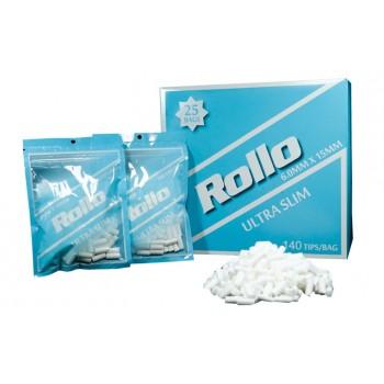 Filtre rulat Rollo - Blue 6 mm Slim (140)