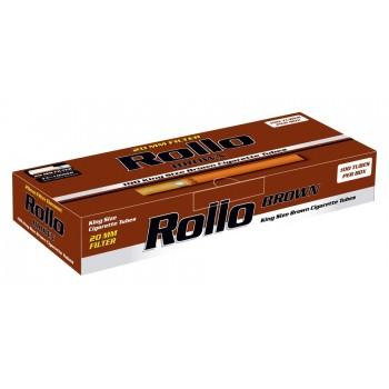 Tuburi tigari Rollo - Brown (100)