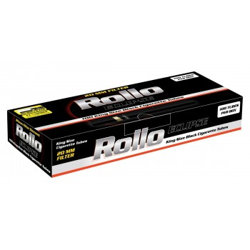 Tuburi tigari Rollo - Eclipse Black (100)