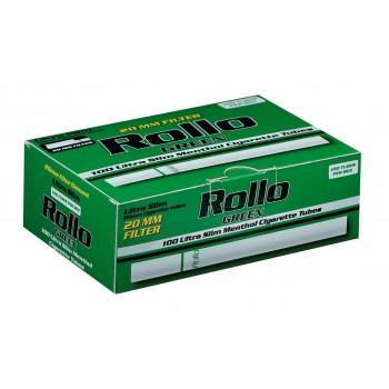Tuburi tigari Rollo Green Menthol - Ultra SLIM (100)