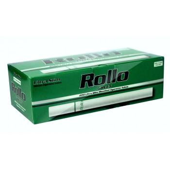 Tuburi tigari Rollo Green Menthol - Ultra SLIM (200)