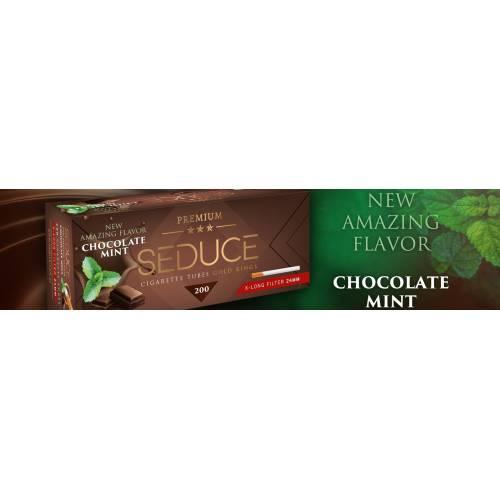 Tuburi tigari Seduce - Chocolate Mint 24 mm Filter (200)