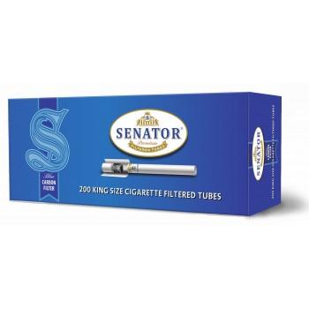 Tuburi tigari SENATOR Blue - Multifilter Carbon (200)