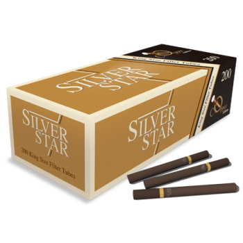 Tuburi tigari Silver Star - Copper Edition (200)