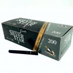Tuburi tigari Silver Star - Carbon Copper 25 mm BLACK (200)