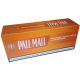 Tuburi tigari Pall Mall Multifilter Carbon ORANGE (200)
