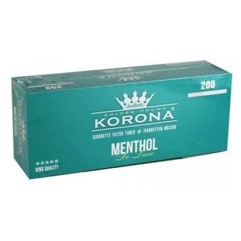 Tuburi tigari Korona Menthol (De Luxe) - (200)
