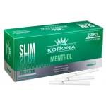 Tuburi tigari Korona SLIM - Menthol (250)