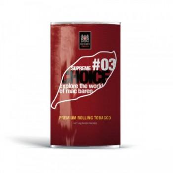 Tutun pentru rulat Mac Baren - #03 Choice Supreme (30g)