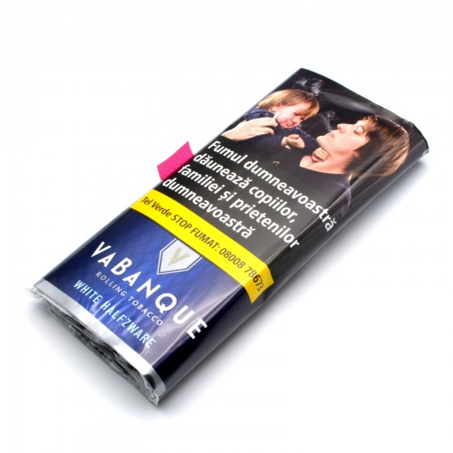 Tutun pentru rulat - Vabanque White Halfzware (30g)